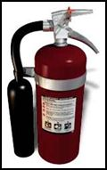 fire extinguisher carbon dioxide