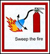 sweep the fire